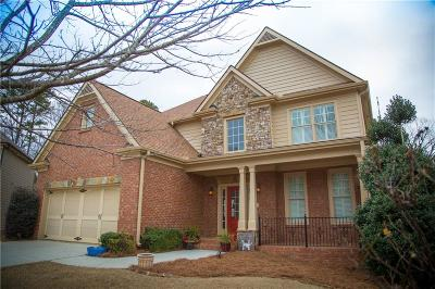 Lawrenceville Single Family Home For Sale: 1418 Squire Hill Lane