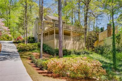 Sandy Springs Single Family Home For Sale: 1265 Old Woodbine Road NE