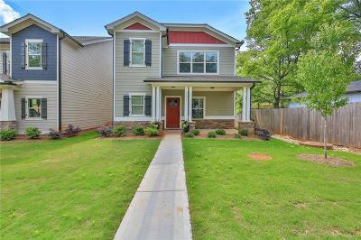 Acworth Single Family Home For Sale: Lot 8 Academy Street