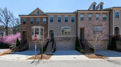 Smyrna Condo/Townhouse For Sale: 2330 W Village Lane SE #2330