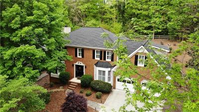 Roswell Single Family Home For Sale: 3417 Johnson Ferry Road NE