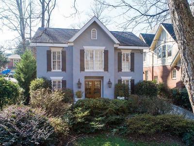 Single Family Home For Sale: 1400 N Morningside Drive NE