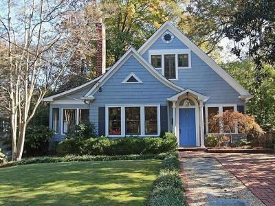 Single Family Home For Sale: 201 Huntington Road NE