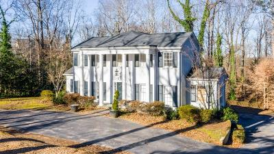 Single Family Home For Sale: 505 Mount Paran Road
