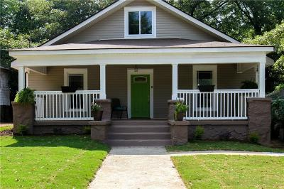 Single Family Home For Sale: 105 Chicamauga Avenue SW