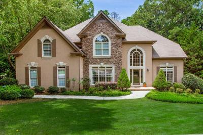 Johns Creek Single Family Home For Sale: 12170 Oak Hollow Way