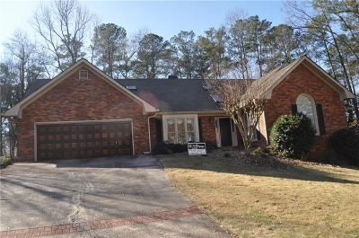 Roswell Single Family Home For Sale: 150 May Glen Way