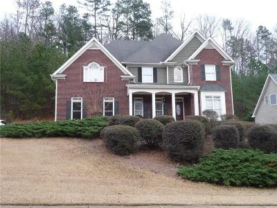 Kennesaw Single Family Home For Sale: 1338 Winborn Circle NW