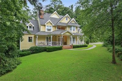Alpharetta Single Family Home For Sale: 5390 Skidaway Drive