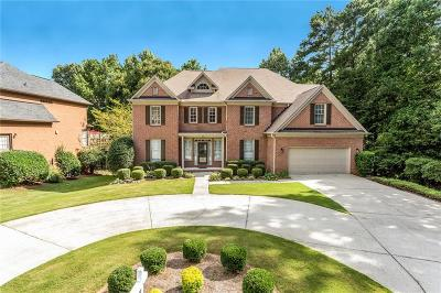 Suwanee Single Family Home For Sale: 6680 Bridlewood Way