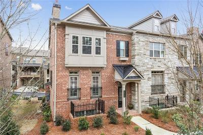 Alpharetta GA Condo/Townhouse For Sale: $435,000