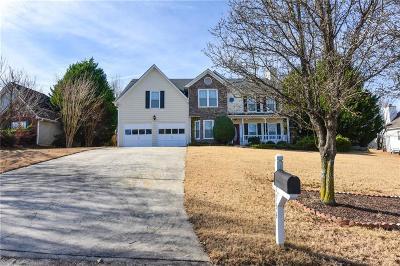 Suwanee Single Family Home For Sale: 3954 Riverstone Drive