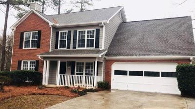 Acworth Single Family Home For Sale: 3636 Autumn View Drive NW