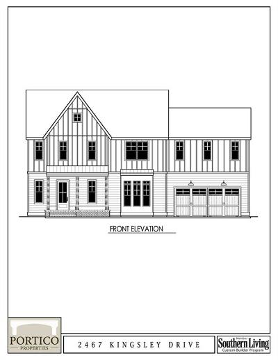 Marietta Single Family Home For Sale: 2467 Kingsley Drive NE