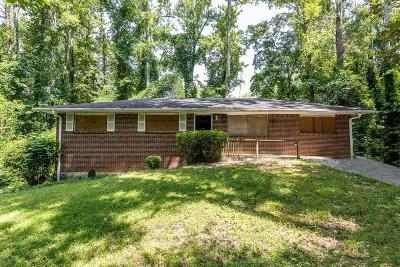 Atlanta Single Family Home For Sale: 3991 Blanton Avenue SW