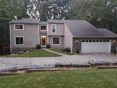 Roswell Single Family Home For Sale: 1750 Branch Valley Drive