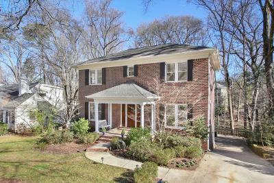 Single Family Home For Sale: 1161 Hancock Drive NE