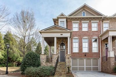 Atlanta Condo/Townhouse For Sale: 1110 Charles Towne Square