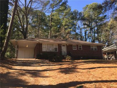 Decatur GA Single Family Home For Sale: $139,000