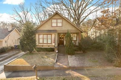 Atlanta Single Family Home For Sale: 135 Palatka Street SE