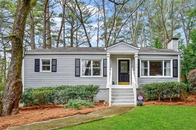Atlanta Single Family Home For Sale: 1178 Shepherds Lane NE