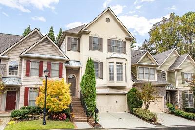 Sandy Springs Condo/Townhouse For Sale: 183 Mystic Court NE
