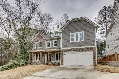 Brookhaven Single Family Home For Sale: 1547 Dresden Drive NE