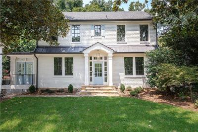 Atlanta Single Family Home For Sale: 640 E Morningside Drive NE