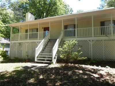 Kennesaw Single Family Home For Sale: 3861 Mountain View Road NW