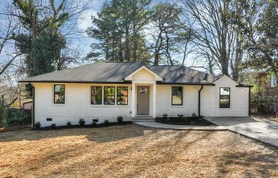 Single Family Home For Sale: 2825 Long Way
