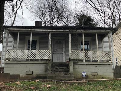 Atlanta Single Family Home For Sale: 769 Coleman Street SW
