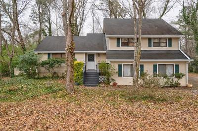 Fulton County Single Family Home For Sale: 560 Tollwood Drive