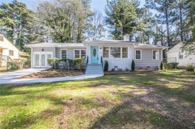 Atlanta Single Family Home For Sale: 1438 Centra Villa Drive SW