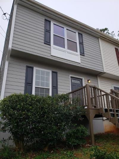 Acworth Condo/Townhouse For Sale: 4394 Overlook Drive