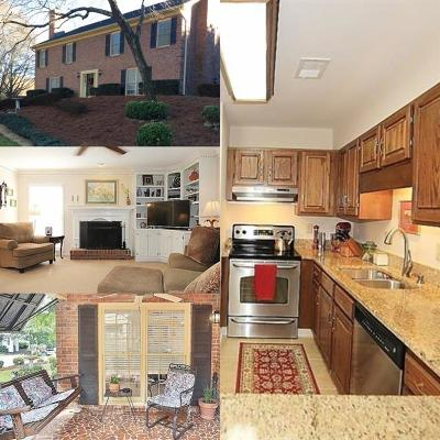Sandy Springs Condo/Townhouse For Sale: 8960 Carroll Manor Drive