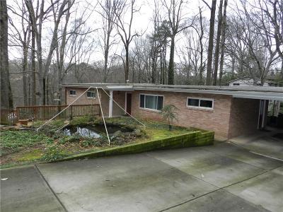 Decatur Single Family Home For Sale: 884 Vistavia Circle
