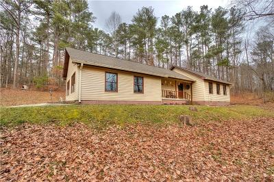 Single Family Home For Sale: 3902 Mulberry Rock Road