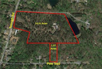 Canton GA Land/Farm For Sale: $599,990