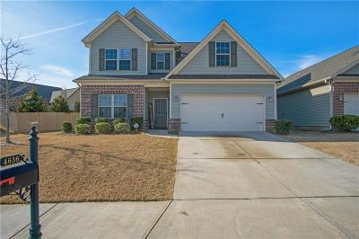 Hall County Single Family Home For Sale: 4636 Sweetwater Drive