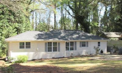 Tucker Single Family Home For Sale: 3268 Fern Drive