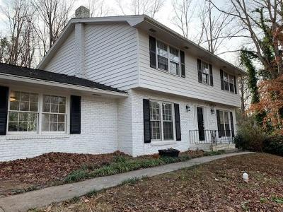 Single Family Home For Sale: 525 Abernathy Road