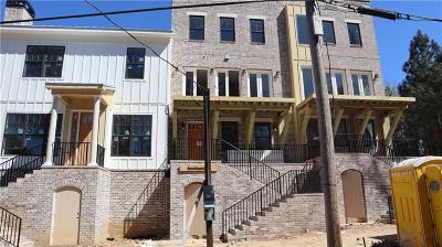 Atlanta Condo/Townhouse For Sale: 1309 Wharton Court #46