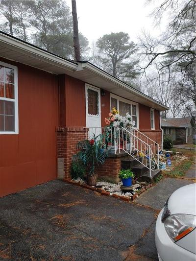 Stone Mountain Single Family Home For Sale: 1509 Sagewood Circle