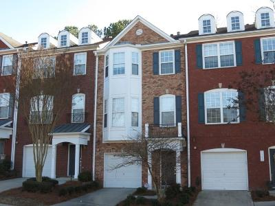 Smyrna Condo/Townhouse For Sale: 1794 Highlands View SE