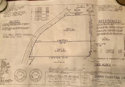 Dahlonega Residential Lots & Land For Sale: Tract A- Mill Creek Road
