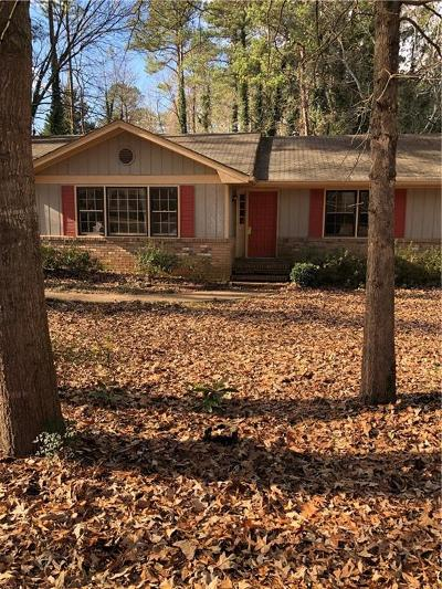 Lilburn Single Family Home For Sale: 4032 Shady Circle NW