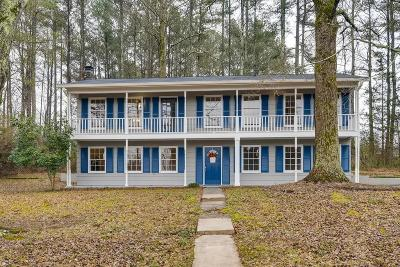 Acworth Single Family Home For Sale: 4903 Ivey Road NW