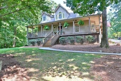 Barrow County, Forsyth County, Gwinnett County, Hall County, Newton County, Walton County Single Family Home For Sale: 3271 Hidden Valley Road