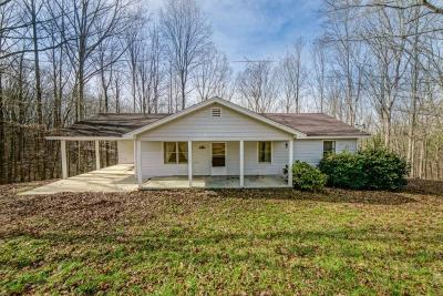 Dawsonville Single Family Home For Sale: 7265 Anderson Lake Road
