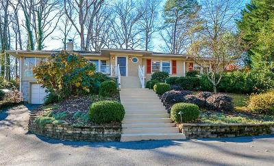 Atlanta Single Family Home For Sale: 1133 Beech Haven Road NE